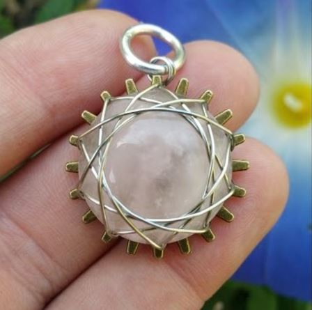 Wire wrapped cabochon tutorial uses gear backs make your own wire wrapped cabochon tutorial uses gear backs make your own polymer clay gears the beading gems journal aloadofball Choice Image