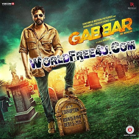 Poster Of Gabbar is Back (2015) All Full Music Video Songs Free Download Watch Online At worldfree4u.com