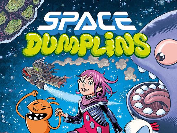 Leia um trecho de Space Dumplins, de Craig Thompson - Quadrinhos na Cia