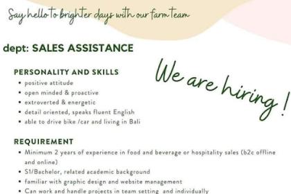 Lowongan Kerja Bali di Little Spoon Desember 2020