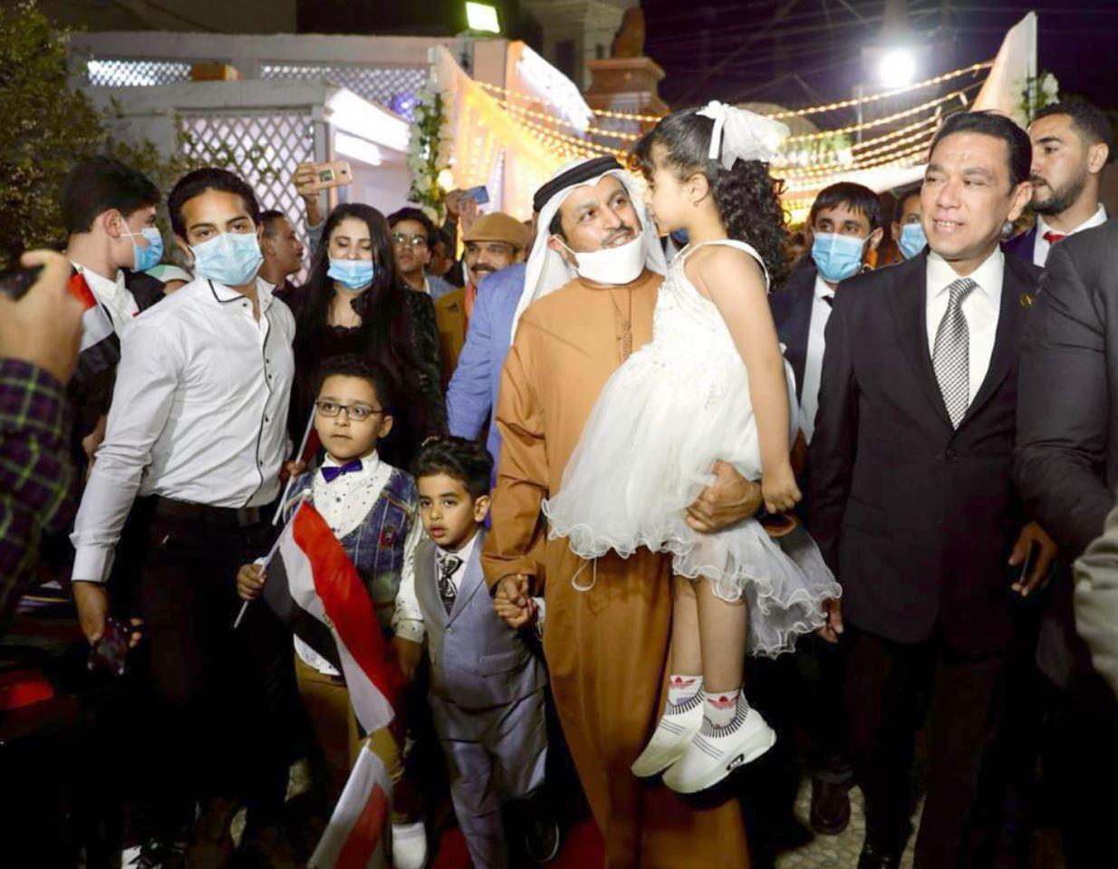 سفير الإمارات يزور محافظات مصر
