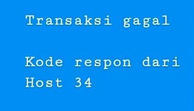 Kode Respon dari Host BRI