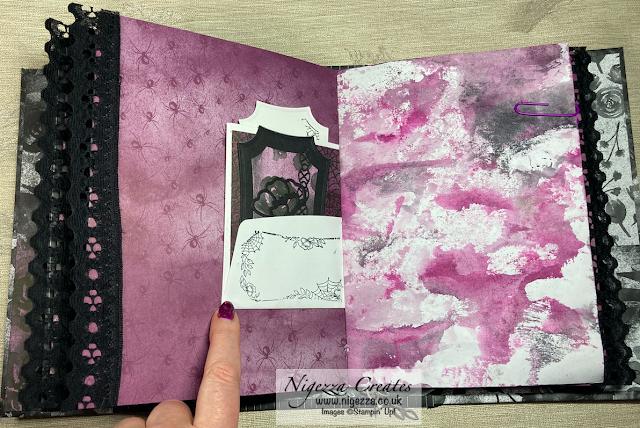 Loaded Envelope Pocket Insert For My Gothic Journal