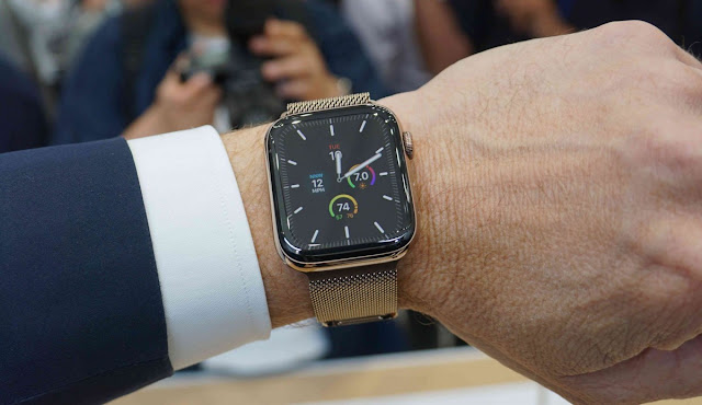 Apple Watch Series 5 Wide Screen