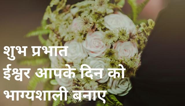 शुभ प्रभात ईश्वर आपके दिन को भाग्यशाली बनाए white rose Image