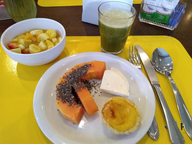 Café da manhã no Plaza Inn American Loft