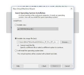 cara install windows di vmware