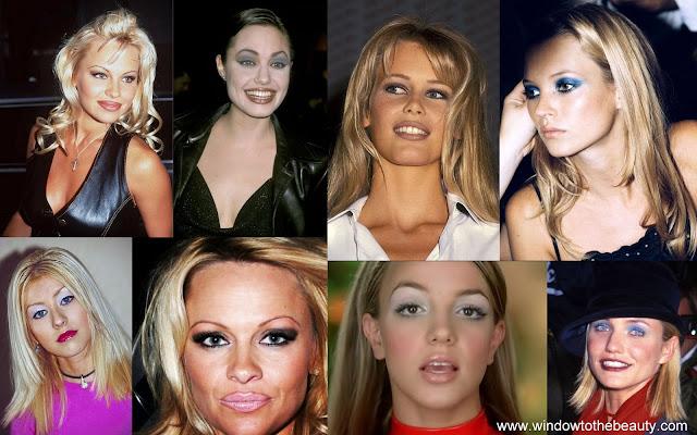 trendy makijażowe lat 90
