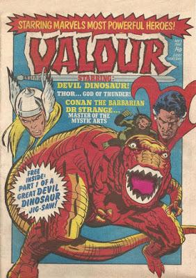 Valour #1, Devil Dinosaur