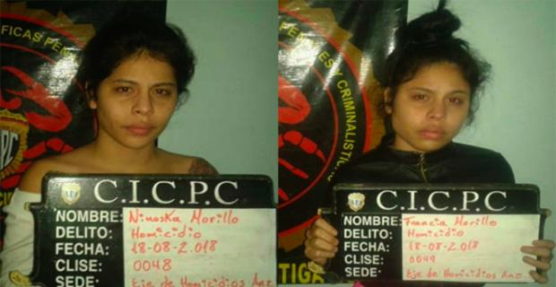 Detenidas las Hermanas Morillo por estar vinculadas a un asesinato