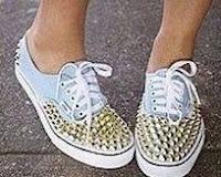 Tênis-sneakers - Customização uma técnica muito na moda