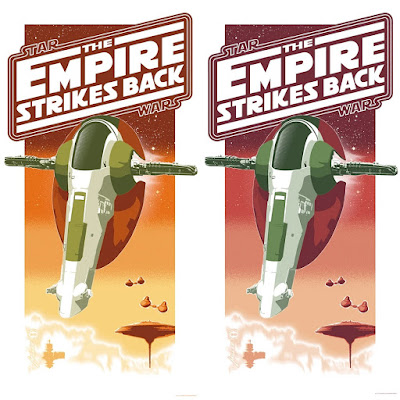 """Star Wars: The Empire Strikes Back """"Bounty Collected"""" Screen Print by Brian Miller (of Oktopolis) x Dark Ink Art"""