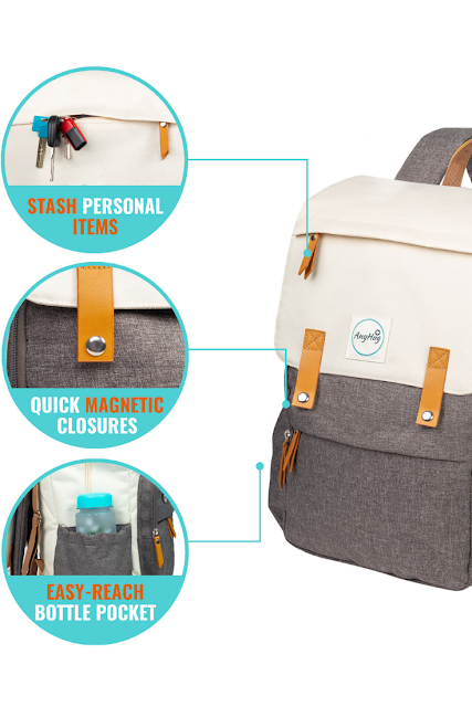 AnyHug Full Featured Diaper Bag Backpack