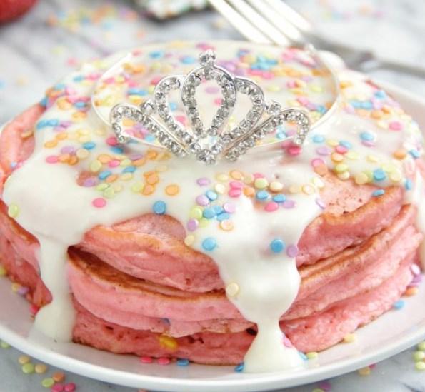 PRINCESS PANCAKES #desserts #cakerecipe
