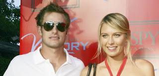 Maria Sharapova And Her Rumored Boyfriend Andy Roddick