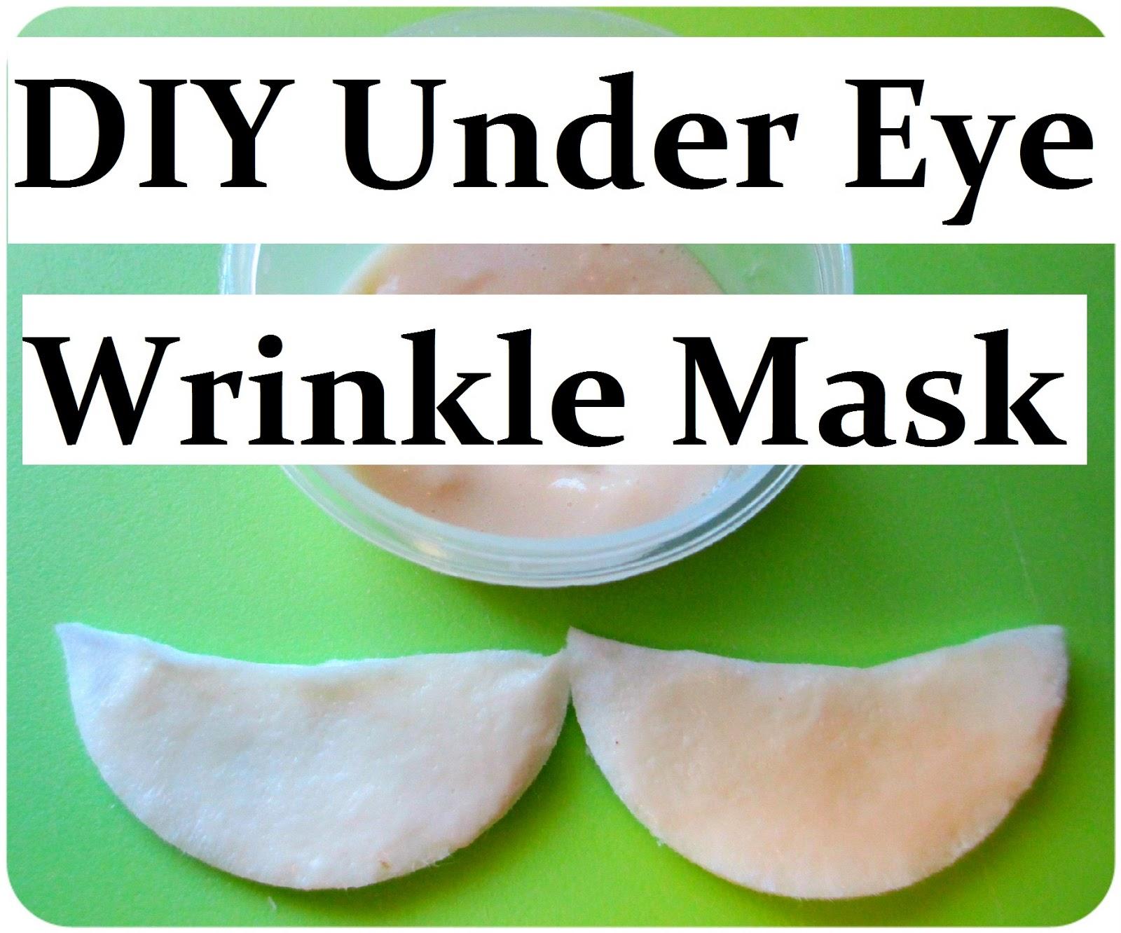 Maria Sself Chekmarev Diy Natural Anti Wrinkle Eye Mask For