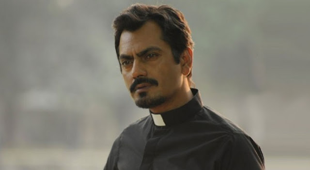 Nawazuddin Siddiqui as Priest Martin in Te3n