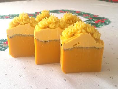 Mydło marchewkowe z olejem lnianym