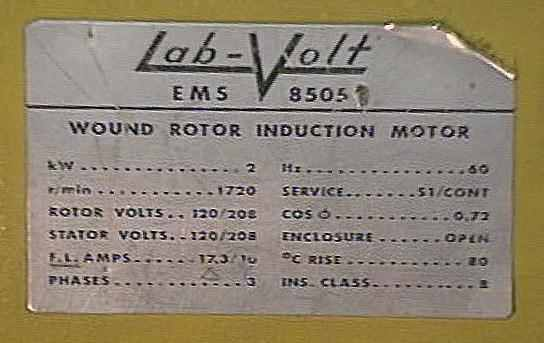 Motor Nameplate Wiring Diagram : Engineering photos videos and articels search