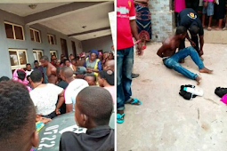 Young Man Caught Stealing Pant!es, Bra And This Happen