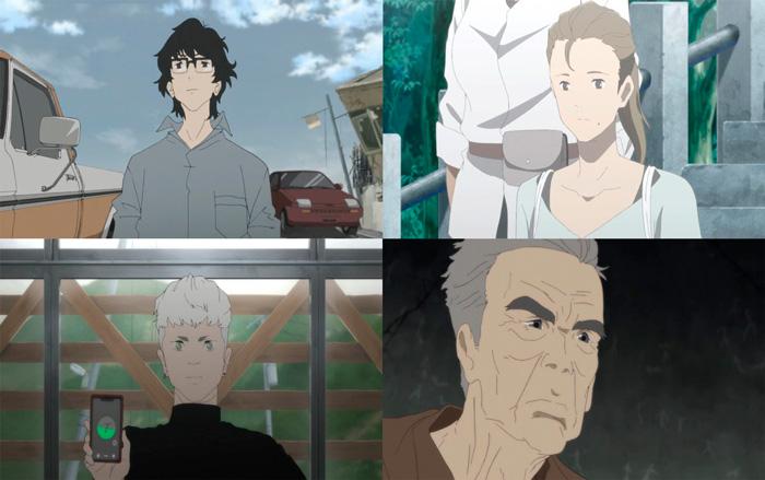 Japan Sinks 2020 anime (Masaaki Yuasa / Science Saru) - Netflix - reparto