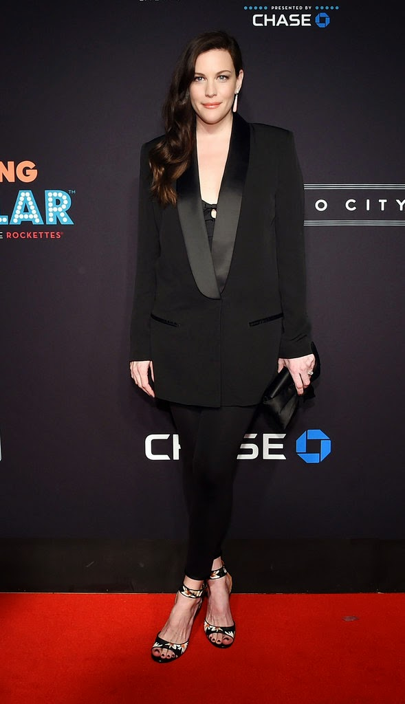 Liv Tyler Makes Her First Radiant Red Carpet Appearance Since Giving Birth