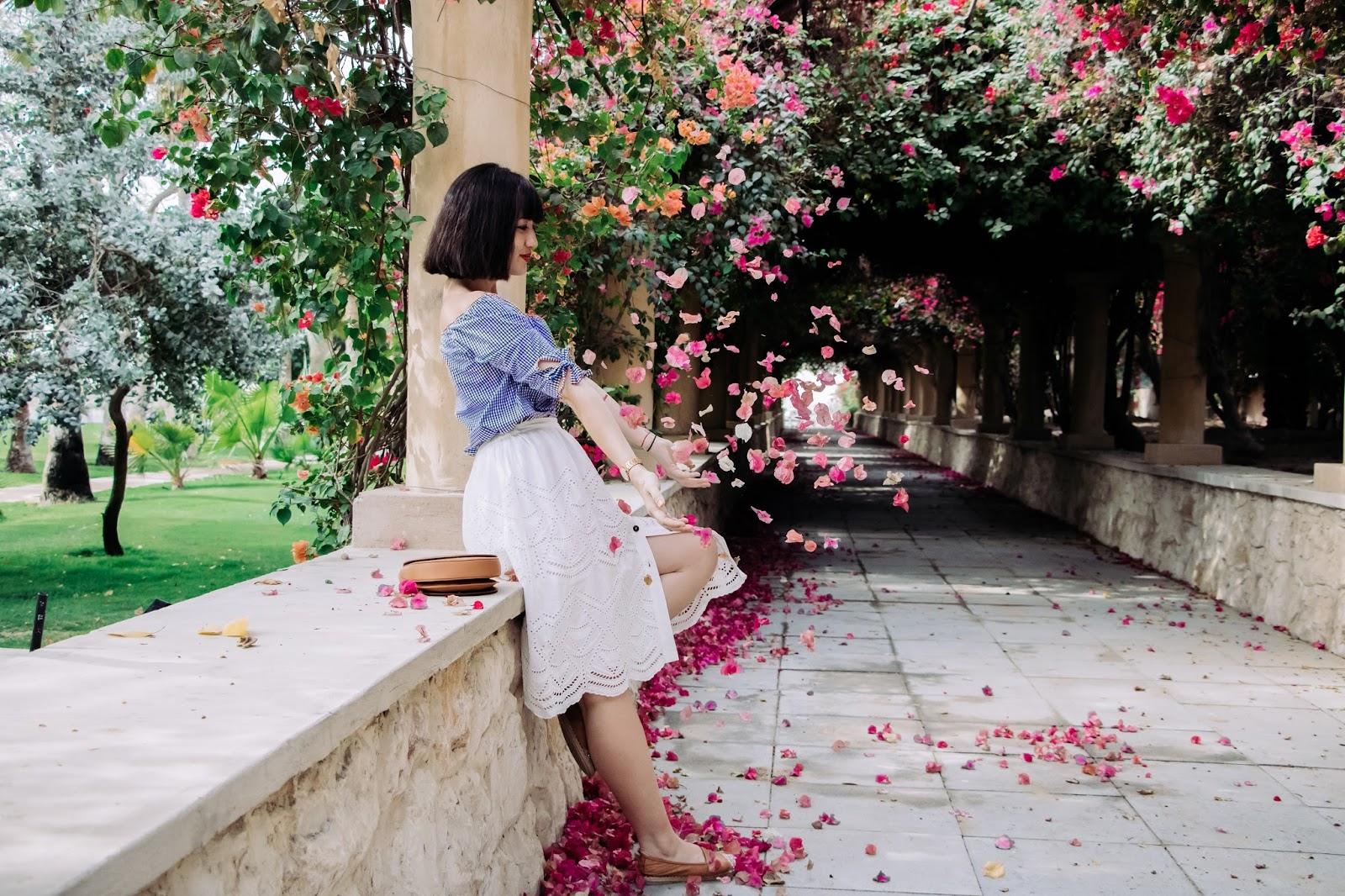 fashionphotography - Flower Arch