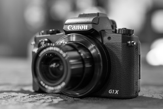 the new Canon PowerShot G1 X Mark III compact digital camera