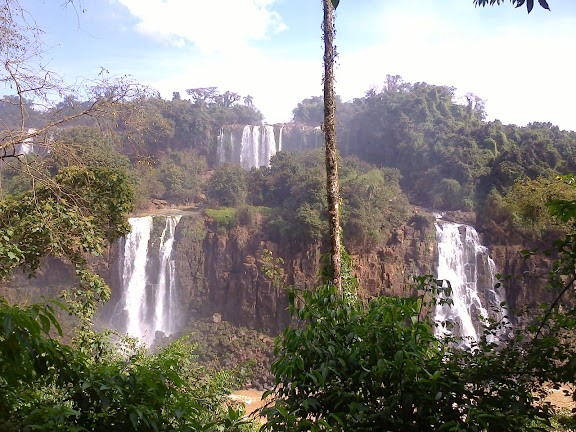 Iguazu Watervallen in Argentinië, Brazilië en Paraguay