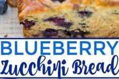 Blueberry #Zucchini #Bread