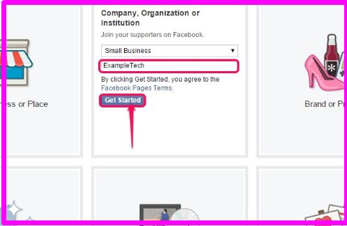 how to make a facebook business page public