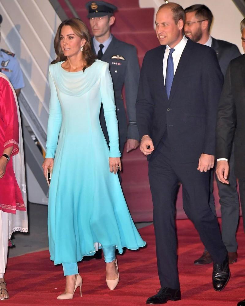 Os melhores looks de Kate Middleton no Paquistão
