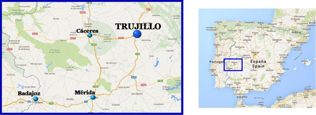 Situación de Trujillo