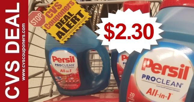 Persil Detergent CVS Coupon Deal 91-97