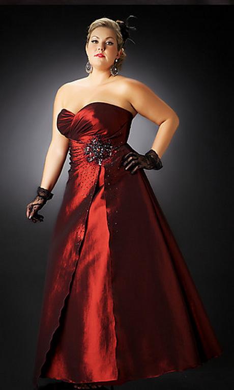 Vestido para gorditas rojo
