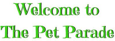 Spring Green Pet Parade Text Banner ©BionicBasil®
