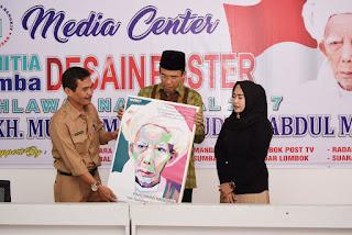Diikuti Peserta dari LN, TGB Bangga dengan Hasil Lomba Poster Maulana Syeikh