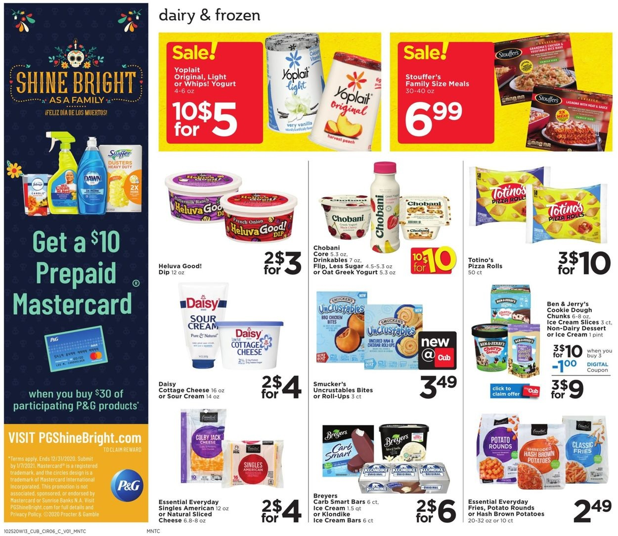 Cub Foods Specials Ad October 25 31 2020