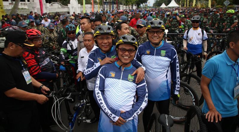 'Batam Bersepeda' Diikuti 7000 lebih Peserta Pesepeda dari Elemen Masyarakat