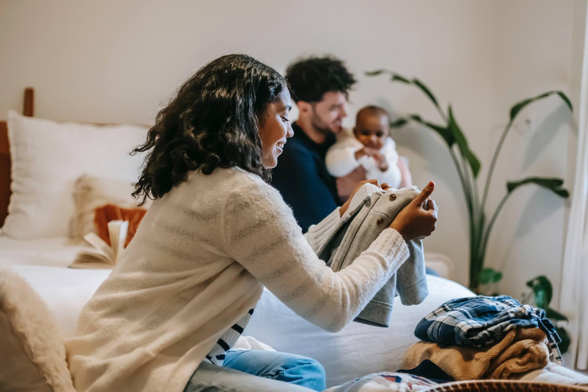 Como escolher roupas para recém-nascidos