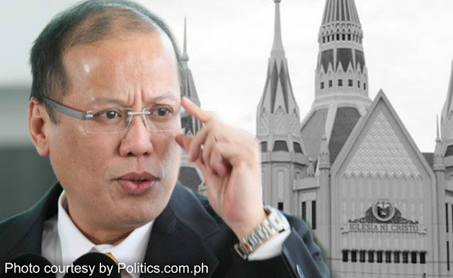 PNoy visits INC, makes 'political appeals'