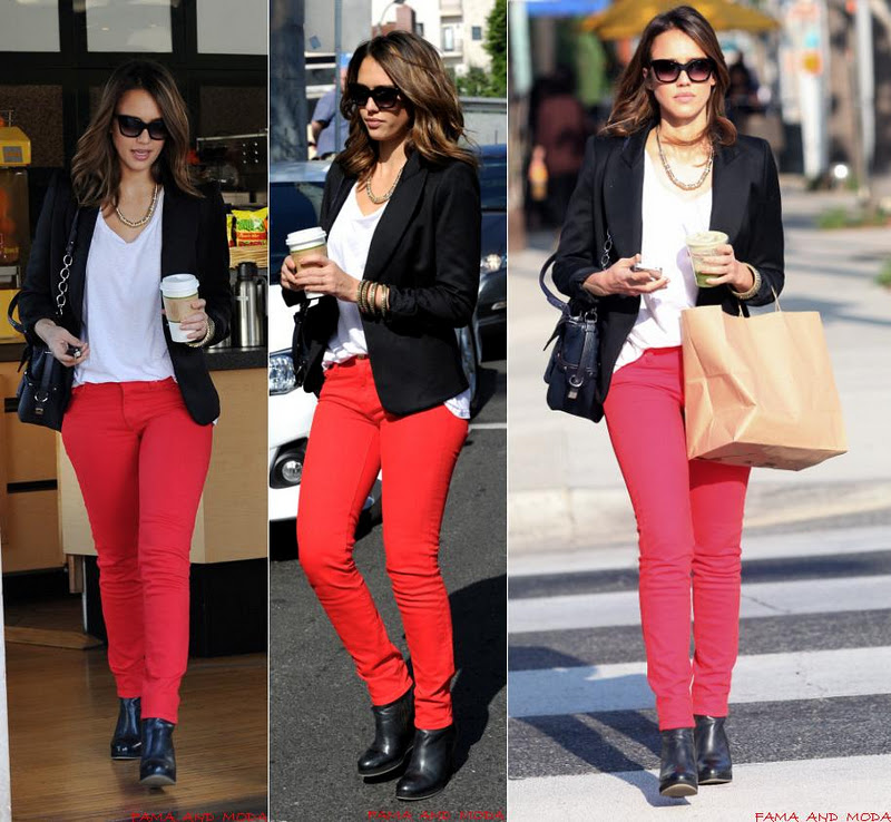 4133b4b3e0 Jessica Alba saindo de uma lanchonete em LA. Quanto mais eu vejo os looks  da atriz