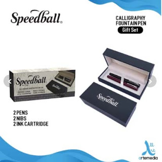 Pena Kaligrafi Speedball Gift Set