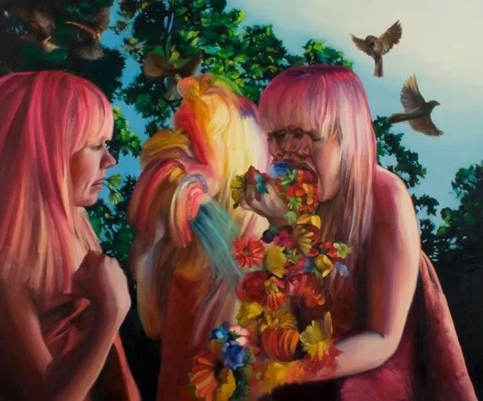 Экспрессионистский реализм. Derek Stefanuk
