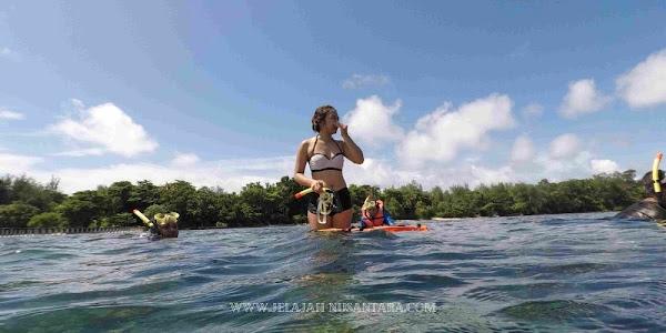 aktivitas selama wisata satu hari pulau pari