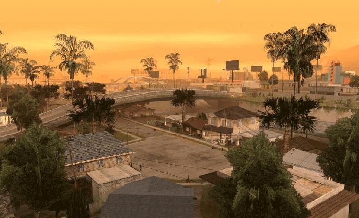 تحميل لعبة جاتا سان اندرس الجديده برابط مباشر GTA San Andreas