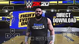 300mb Wwe 2k20 Android Psp Mod For Svr 06 100 Working On 1gb Ram 2019 Technicalflick