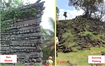 nan madol gunung padang columnar basalt