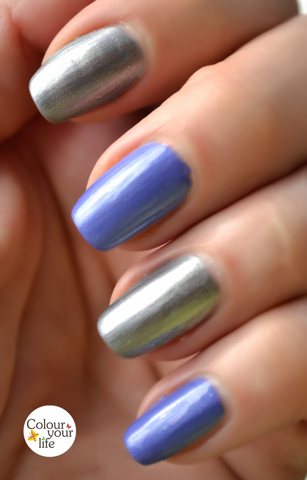 I Thought To Mix These Three Polishes In A Manicure Because Think They Look Very Good Together