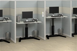 Adjustable Height VariTask Workstations by Mayline